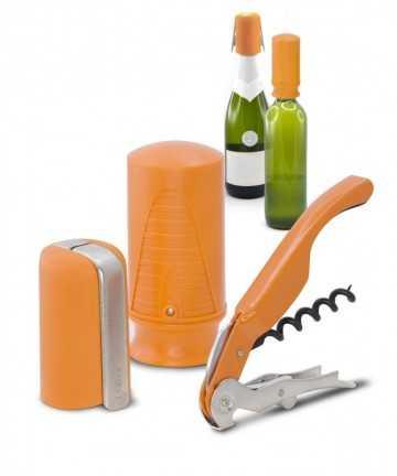 Set starter 3 accesorii portocalii