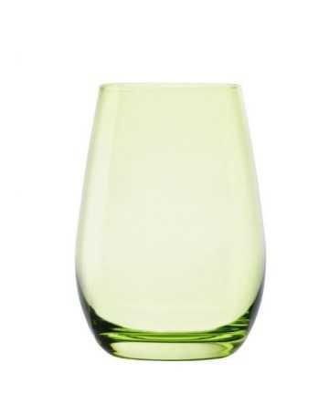 Set 6 pahare pentru apa/suc, chihlimbar- ELEMENTS